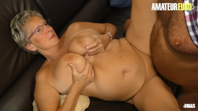 Unknown - Busty German GILF Erna Rides Cock Like A Teenager: 245 MB: FullHD 1080p - [AmateurEuro]