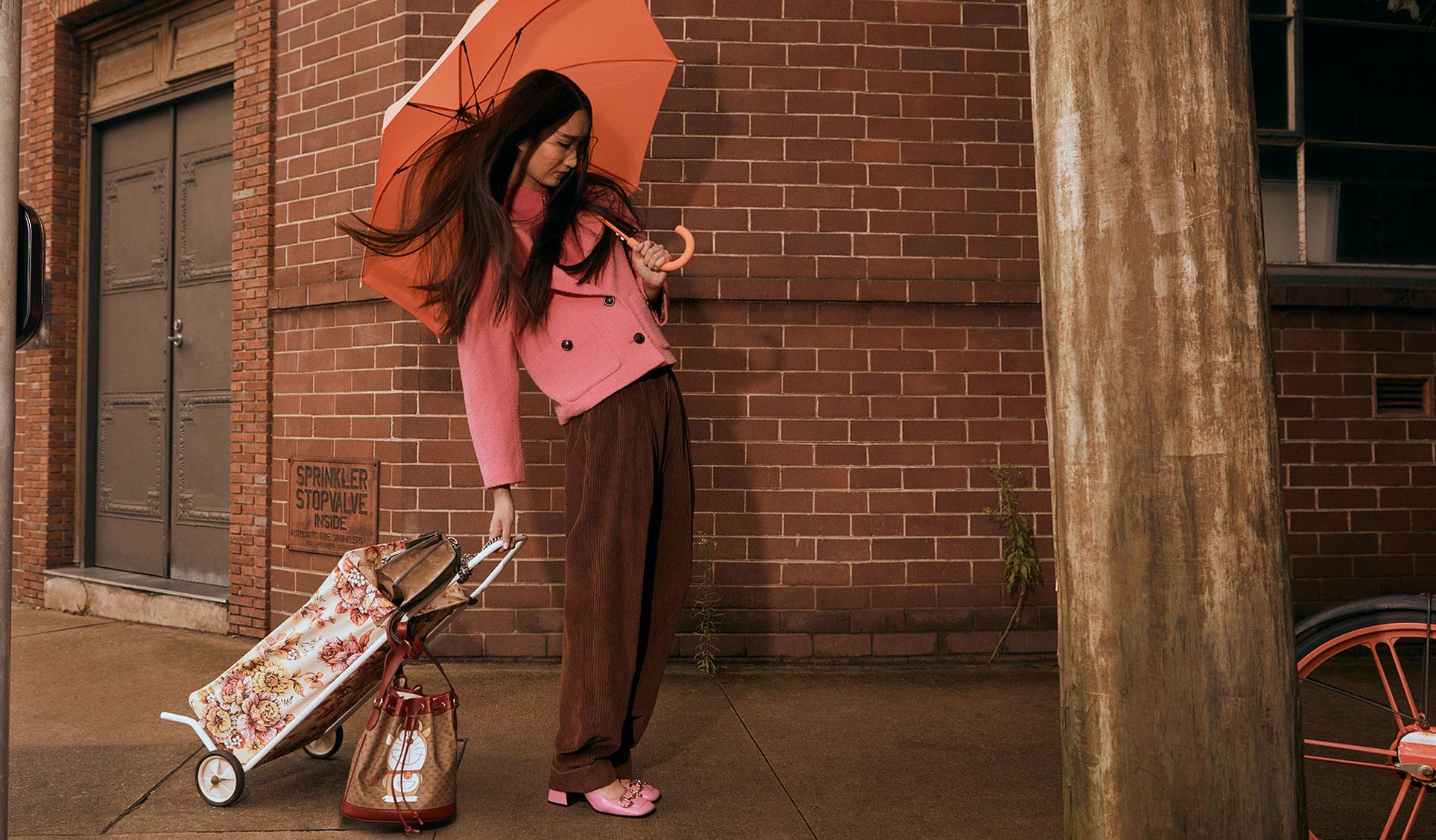 Обувь и сумочки новой коллекции Doraemon x Gucci / фото 04