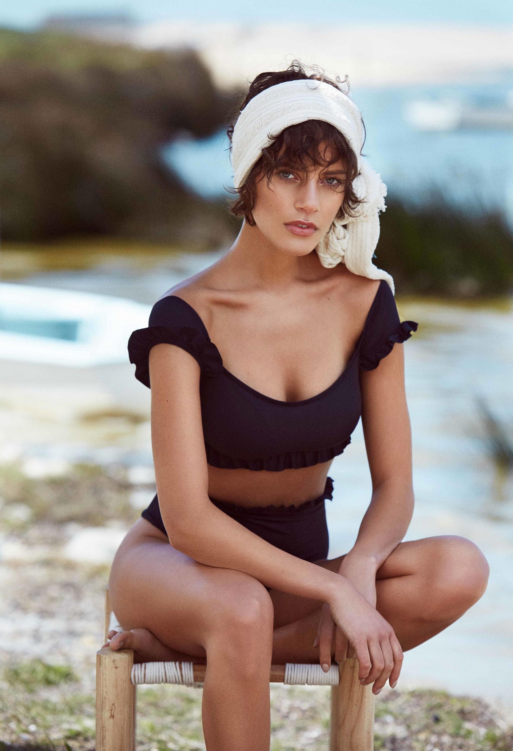 купальники Calzedonia на страницах журнала Elle Португалия / фото 12