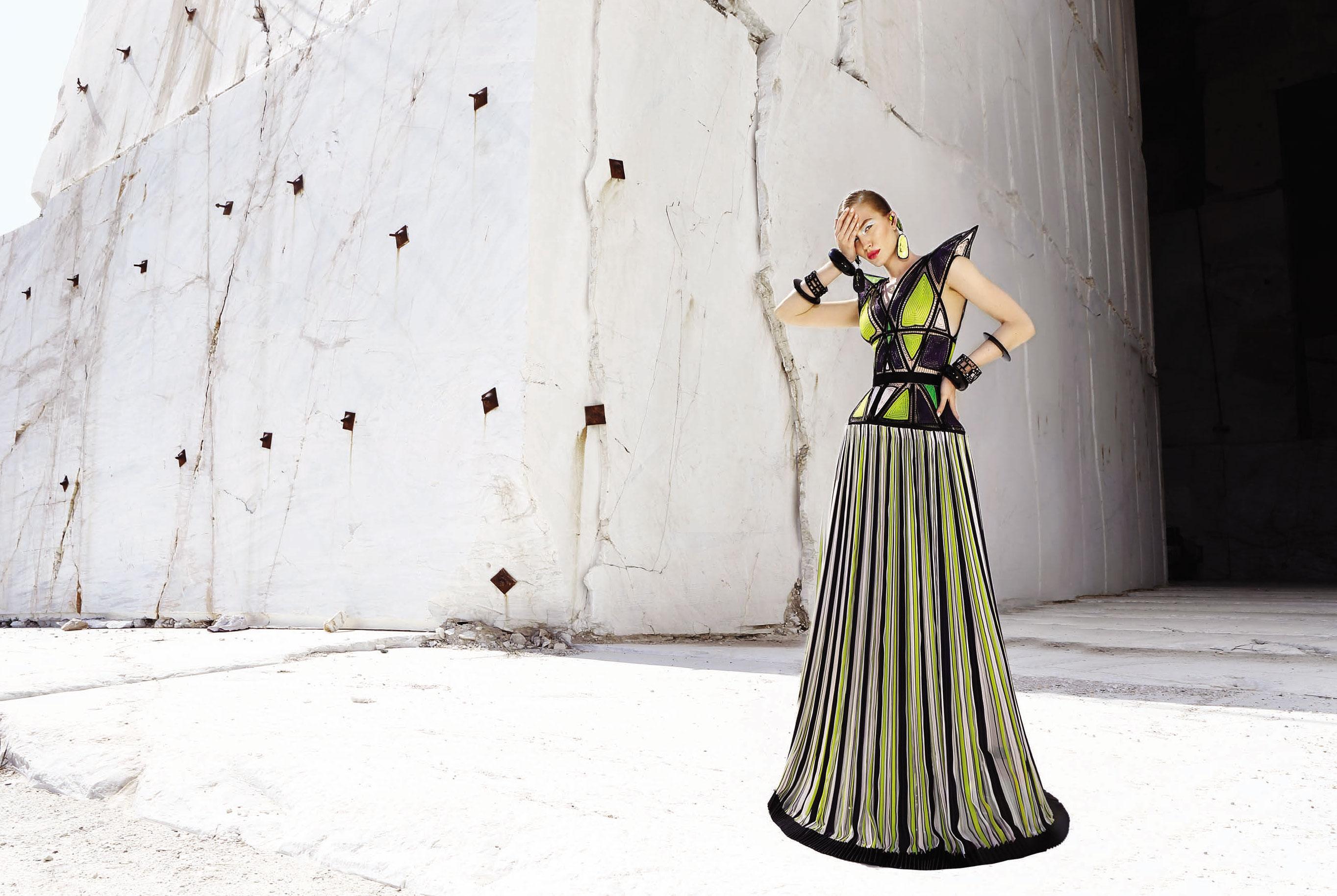 Юлия Забровская примеряет доспехи космического Одиссея / фото 15